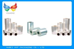 China 50% Heat Shrinkable PVC Sleeves Shrink Film Rolls For Tamper Proof Shrink Seals on sale