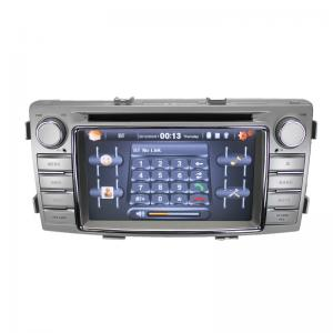 China Toyota Hilux 2012 Vehicle DVD Player With 6.2 Inch Car DVD Player GPS Navi BT on sale