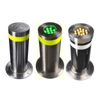 Polished Surface Electric Automatic Rising Bollards For Urban Transportation