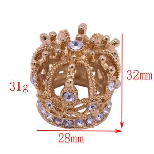 China Sample Custom Zinc Alloy Die Cast Perfume Cover For High Grade Metal Perfume Bottle on sale