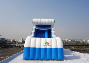 China Summer Jumbo Inflatable Water Slides For Children Environmentally Friendly on sale