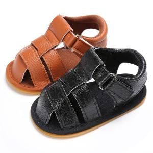 China Wholesale cheap infant Sandals Rubber soft-sole 0-2years Toddler baby shoes for Boy on sale