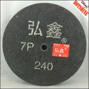 "China 8""x2"" 7P Non woven abrasive polishing wheel on sale"
