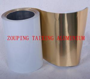 China white lacquer aluminium foil for food tray on sale