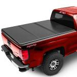 Hilux 4 Doors D-MAX 2013 Pickup Bed Covers , Truck Tonneau Covers Black Color