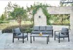Rattan Garden Table And Chair Set , Luxury Wicker Patio Furniture Sets