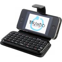 China Mini computer IPhone 4 Bluetooth Keyboard Cases with micro USB port charging for email on sale