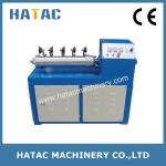 Base de papel automática Recutter, tubos de papel que cortan la maquinaria