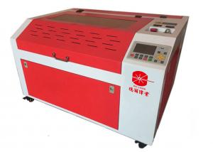 China 3 Head Small Laser Cutting Machine , CNC 180 Wattage CO2 Laser Engraver on sale