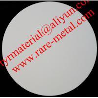 Zirconium oxide (ZrO2) sputtering targets, purity: 99.95%,  CAS: 1314-23-4