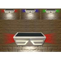Solid Solar Powered Outside Motion Lights , Led Solar Security Light With Motion Detector
