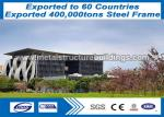 All Steel Structures Formed Metal Steel Buildings Welded H Section , Lattice Structure
