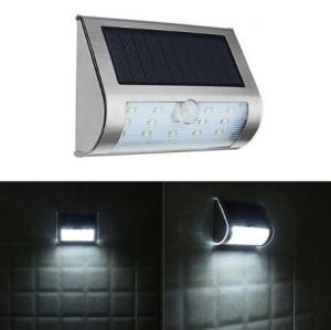 China Solar Power 13 LED PIR Motion Sensor LED Light Outdoor Garden IP65 Security Wall Lamp on sale