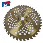 255mm TCT Circular Grass Cutter Blade with 40T for Cutting Bush Bamboo Fence