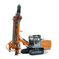 "4"" / 5"" Hammer Bits Integrated DTH Drilling Rig With Cab / Dust Collecting Device"