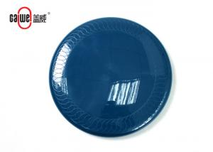 China Low Weight Home Frisbee Flying Disc Blue Color Non Toxic / Stick Practical on sale