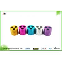 China Aluminium Ego Battery Holder Electronic Cigarette Accessories , Yellow / Rose / Silver on sale