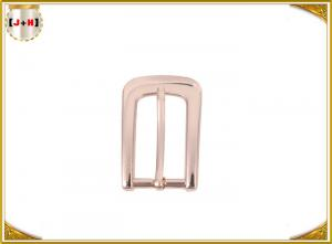 China Light Gold Glossy Metal Shoe Buckles For Ladies Shoes Decoration Environmental Plated on sale