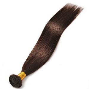 China Brazilian Virgin Hair Extension Straight Wholesale Brown Human Hair Weaves on sale
