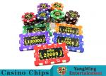 Roullette Games  ABS Material  Poker Chips