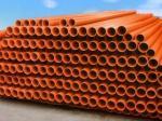 El polietileno no tóxico PE instala tubos para el drenaje/la reforma rural del agua, drenaje instalado tubos