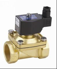 China Electric Air Solenoid Valve , Air Actuated Solenoid Valve Normally Closed 2 Inch on sale
