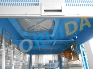 China Single Car Industrial Elevators , Building Lifter CH160 with 118 Mast Section on sale