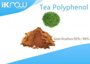 China Natural Tea Polyphenol Brown Powder Cas 84650-60-2 Green Tea Extract on sale