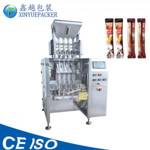 China Multi Purpose Multi Lane Packaging Machine Low Noise With PLC Control System on sale