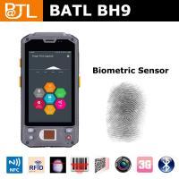 China BATL BH9 ip65 rugged pda with fingerprint sensor 1D/2D scanner and RFID reader 3G wifi bluetooth on sale
