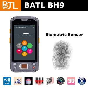 China BATL BH9 ip65 rugged pda with fingerprint sensor 1D/2D scanner and RFID reader 3G wifi bluetooth on sale