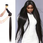 Straight Weave 40 Inch 100% Virgin Human Hair Unprocessed Full Cuticle