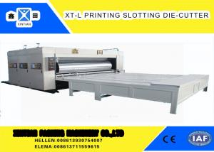 China High Precision Cardboard Printing Slotting Machine 70 Pieces / Min Semi - Automatic on sale