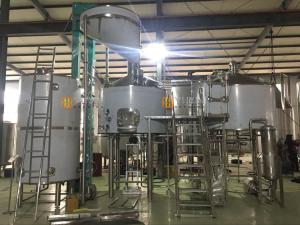 China stainless steel home used beer brewing equipment / brew kittle on sale