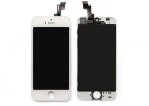 China iPhone 5S LCD Screen Unlocked Iphone 5s Lcd Display Repair Parts with Original IC  White on sale