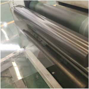China Customized size clear polyester hard PET sheet film rolls for thermoforming on sale