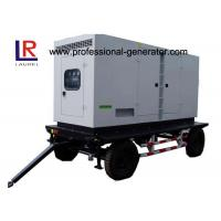 Low Noise 8kw to 500kw Diesel Mobile Power Generator with AC 3 Phase Digital Control Panel