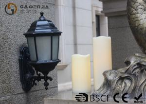 China Outdoor Led Pillar Candles With Remote , Pillar Led Candles Battery Operated on sale