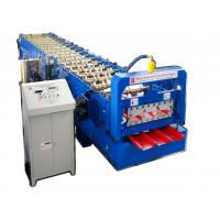 China Colored Steel Roofing Sheet Roll Forming Machine Corrugated Steel Sheet Making Machine on sale