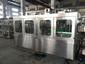 China Stainless Steel Automatic Bottle Filling Machine Water Bottle Rinsing Filling And Capping Machine on sale