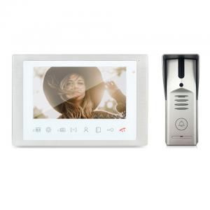 China High quality metal material video doorbell HD video intercom vandal proof camera video door phone on sale