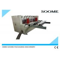 Vacuum Feeding Thin Blade Slitter Scorer Machine Automatic Creasing With Pre Creaser