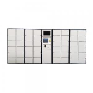 China Laundry System Parcel Delivery Lockers QR Code Locker For Dry Cleaning Business on sale