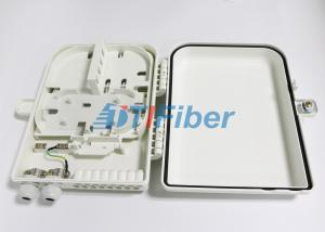 China 16 Port Optical Fiber Distribution Box With 1*16 PLC Fiber Splitter on sale