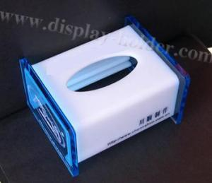China Top Open Acrylic Tissue Box (TB-010) on sale