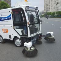 Street sweeper, industrial vacuum cleaning machine