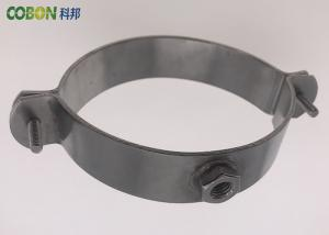 Anodization Surface Industrial Pipe Clamps , No Burrfree