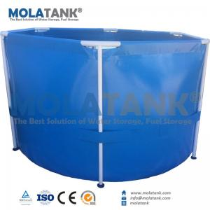 China Molatank Flexible Ecnomic PVC 500L-40,000L Aquarium Fish Tank For Sale on sale
