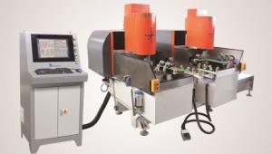 China Automatic CNC Glass  Corner Grinding Polishing Machine,CNC Glass Corner Edging Machine,Automatic Corner Grinding Machine on sale