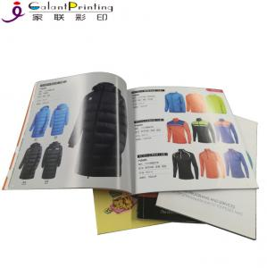 China Custom Softcover Book Catalogue Brochure Printing Paper Printing Services on sale